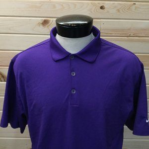 Nike Golf Tour Performance Polo Purple
